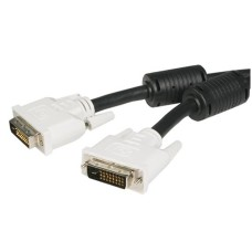 StarTech - Cable de Video, StarTech, DVIDDMM6, DVI-D, 1.8 m, Negro