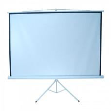 Pantalla de Proyección, Multimedia Screens, MST-152, 84 pulgadas, Trípode