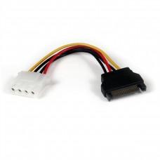 STARTECH - Cable Adaptador, Startech, LP4SATAFM6IN, 15cm, SATA