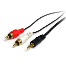 Cable de Audio Estéreo, StarTech, MU6MMRCA, Macho de 3.5 mm a 2x macho RCA, 1.8 m