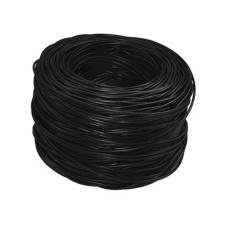 _LWS - Bobina de Cable, SAXXON, TVD119047, Cat5e (UTP), 305m, Para exterior, Negro