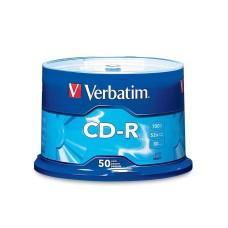 CD-R, Verbatim, 94691, 52X, 80 MIN, 700 MB, 50 Discos