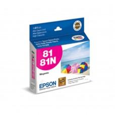 EPSON - Cartucho de Tinta, Epson, T081320-AL, 81, Magenta, 860 Paginas, Alto Rendimiento