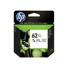 HP - Cartucho de Tinta, HP, C2P07AL, 62XL, Tricolor, 415 Páginas, Alta Capacidad