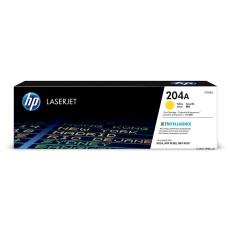 HP - Cartucho de Toner, HP, CF512A, Amarillo, Hasta 900 Paginas