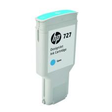 HP - Cartucho de Tinta, HP, F9J76A, 727, Cian, 300 ml