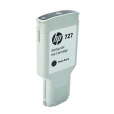 HP - Cartucho de Tinta, HP, F9J79A, 727, Negro Fotográfico, 300 ml
