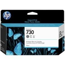 HP - Cartucho de Tinta, HP, P2V66A, LF 730, Gris, 130 ml