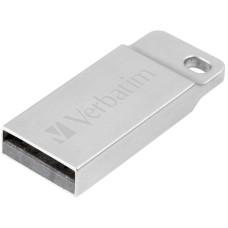 Memoria USB, Verbatim, VB70010, 16 GB, Plateado