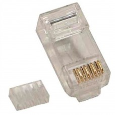 Plug RJ45, Brobotix, 101402, Cat6, RJ 45, 100 piezas
