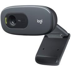 Cámara Web, Logitech, 960-000964, c270, 3 MP, USB, Negro