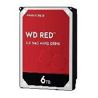 Disco Duro Interno, Western Digital, WD60EFAX, 6TB, 256MB, 5400 RPM, SATA III