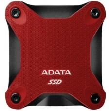 ADATA - Unidad de Estado Sólido, Adata, ASD600Q-240GU31-CRD, 240GB, USB 3.1, Rojo