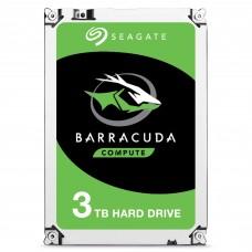 SEAGATE - Disco Duro Interno, Seagate, ST3000DM007, Barracuda, 3.5 pulgadas, SATA, 5400 RPM