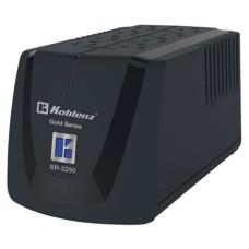 Regulador, Koblenz, ER-2250, 1000 W, 8 contactos, NEMA5-15R, Negro