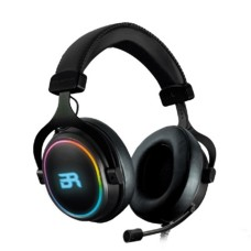 Audífonos con Micrófono, BALAM RUSH, BR-922982, USB, Negro