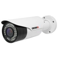 Cámara de Vigilancia, PROVISION ISR, I4-390AEVF, Tipo Bala, 2MP, IR hasta 35m, IP66, Blanco