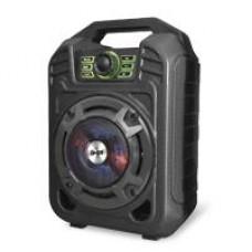 GHIA - Bocina Portátil, Ghia, GSP-005, Recargable, LED, Bluetooth, 3.5 mm, USB, MicroSD, Negro, 2000 W
