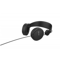 Audífonos con Micrófono, Naceb, NA-0313N, Alambrico, 3.5 mm, 1.2 m, Negro, Diadema