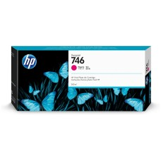 HP - Cartucho de Tinta, HP, P2V78A, 746, Magenta, 300 ml