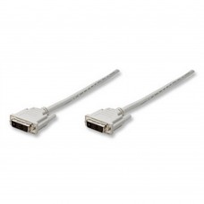 MANHATTAN - Cable de Video, Manhattan, 328821, DVI-D Macho a DVI-D Macho, 1.8 m