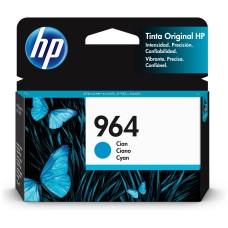 HP - Cartucho de Tinta, HP, 3JA50AL, 964, Cian, 700 Páginas