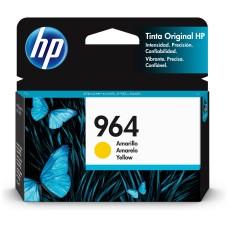 HP - Cartucho de Tinta, HP, 3JA52AL, 964, Amarillo, 700 Páginas