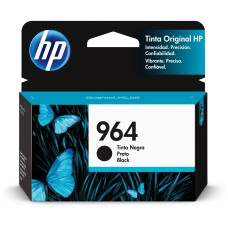 HP - Cartucho de Tinta, HP, 3JA53AL, 964, Negro, 1000 Páginas