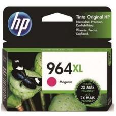 HP - Cartucho de Tinta, HP, 3JA55AL, 964XL, Magenta, 1600 Páginas, Alto Rendimiento