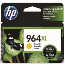 HEWLETT PACKARD - Cartucho de Tinta, HP, 3JA56AL, 964XL, Amarillo, 1600 Páginas, Alto Rendimiento