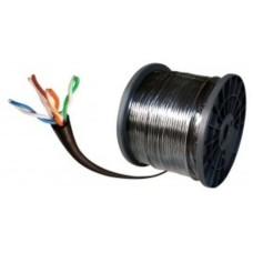 CONDUMEX - Cable de Red, Condumex, Bobina, Cat 6, 305 m, 23 AWG, Gris