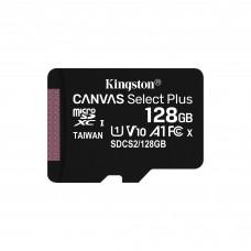 KINGSTON - Memoria SD, Kingston, SDCS2/128GB, 128 GB, Canvas Select Plus