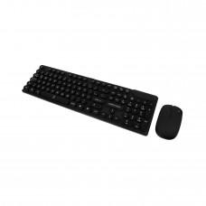Kit de Teclado y Mouse, Perfect Choice, PC-201052, Inalámbrico, USB, Negro