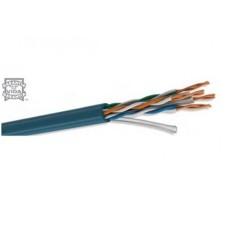 CONDUMEX - Cable de Red, Condumex, 66445612, Bobina, Cat 5E, 305 m, Bravo Twist, 24 AWG, PVC, Azul
