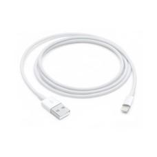 APPLE - Cable de Datos, Apple, MXLY2AM/A, USB a Lightning, 1 m, Blanco