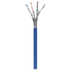 Cable de Red, Intellinet, 705042, Bobina, CAT 6A, SFTP, 305 m, Sólido, Azul