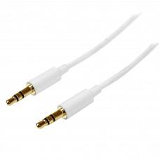 STARTECH.COM - Cable de Estéreo, Startech, MU3MMMSWH, 3.5mm, 3m, Blanco