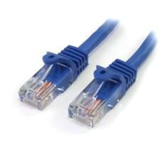 STARTECH.COM - Cable de Red, StarTech, 45PAT5MBL, CAT 5E, 5m, Azul