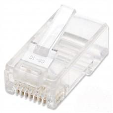 INTELLINET - Conector Plug RJ-45, Intellinet, 790055, Cat 5e, UTP, Multifilar, 100 Piezas