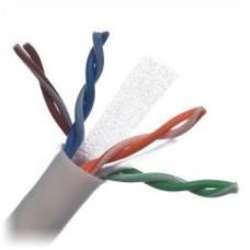Cable de Red, Belden, 2412 009A1000, Bobina, UTP, CAT6E, 305 m, Blanco, Cobre