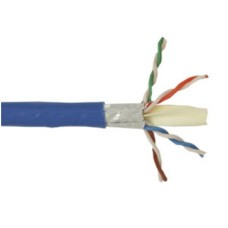 BELDEN - Cable de Red, Belden, Bobina, 10GXS12 0061000, UTP, CAT 6E, Azul, 305 m, Cobre, 23 AWG, Interior