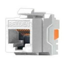 BELDEN - Conector, Belden, AX101320, Jack, Keyconnect, RJ45, Blanco
