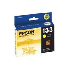 EPSON - Cartucho de Tinta, Epson, T133420-AL, 133, Amarillo