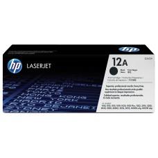 HP - Cartucho de Tóner, HP, Q2612A, 12A, Negro
