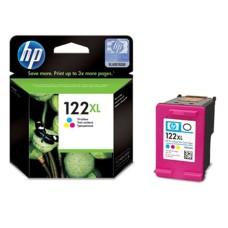 HP - Cartucho de Tinta, HP, CH564HL, 122XL, Color, Alto Rendimiento