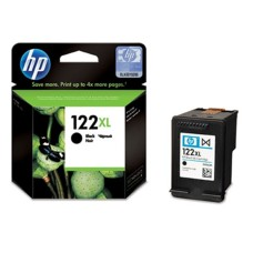 HP - Cartucho de Tinta, HP, CH563HL, 122XL, Negro, Alto Rendimiento