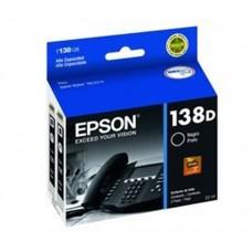 EPSON - Cartucho de Tinta, Epson, T138126-AL, 138D, Negro