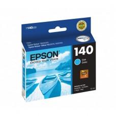 EPSON - Cartucho de Tinta, Epson, T140220-AL, 140, Cian