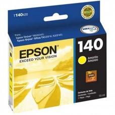 EPSON - Cartucho de Tinta, Epson, T140420-AL, 140, Amarillo