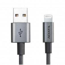 ADATA - Cable de Datos, Adata, AMFIAL-1MK-CTI, USB a Lightning, 1 m, Titanio